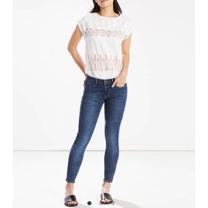 Levi's 711 Skinny Ankle Jeans size 10